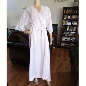 Christian Dior Lingerie Vintage Pink Robe